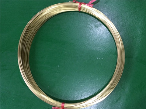 Precision Coiled Brass Tubes
