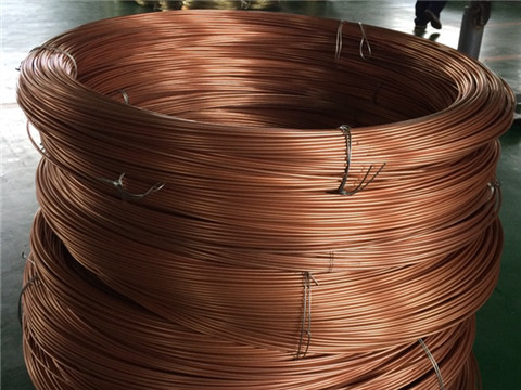 Precision Coiled Copper Tube